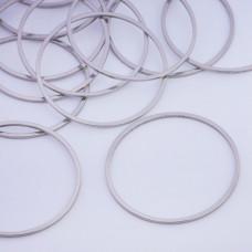 Baza geometryczna ze stali chirurgicznej koło 35mm srebrny