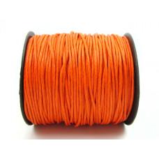 Sznurek woskowany 1,5mm pomarańcz
