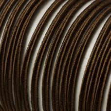 Sznurek do sutaszu 3mm brązowy