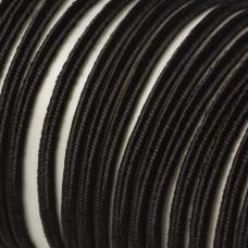 Sznurek do sutaszu 3mm czarny