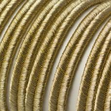 Sznurek do sutaszu  7mm złoty