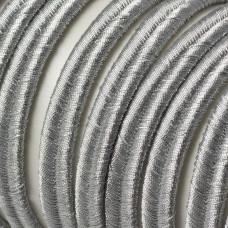 Sznurek do sutaszu 7mm srebrny