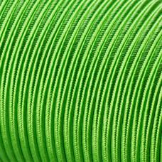 Sznurek do sutaszu acetatowy 3mm soczysta zieleń