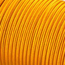 Sznurek do sutaszu acetatowy 3mm pomarańczowy