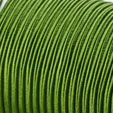 Sznurek do sutaszu acetatowy 3mm zielony