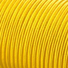 Sznurek do sutaszu acetatowy 3mm żółty