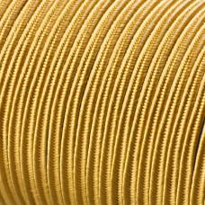 Sznurek do sutaszu acetatowy 3mm złoty
