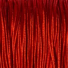 Sznurek do sutaszu krwisty czerwony 3mm