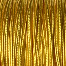 Sznurek do sutaszu słoneczny żółty 3mm