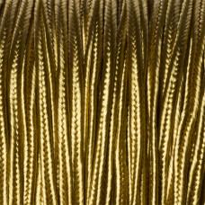 Sznurek do sutaszu złoty  3mm