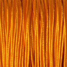 Sznurek do sutaszu pomarańczowy 3mm