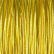 Sznurek do sutaszu żółty 3mm