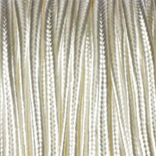 Sznurek do sutaszu kość słoniowa 3mm