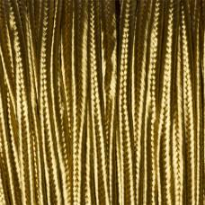 Sznurek do sutaszu ciemny złoty 3mm