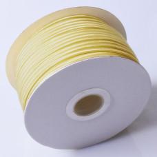 Sznurek do sutaszu chiński yellow 3mm