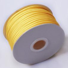 Sznurek do sutaszu chiński yellow gold 3mm