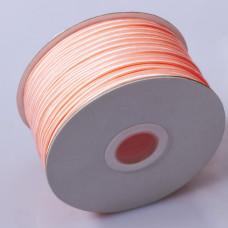 Sznurek do sutaszu chiński neon orange  3mm