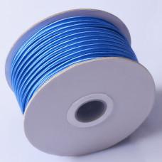 Sznurek do sutaszu chiński electric blue 3mm