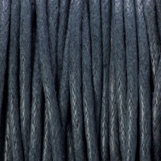 Sznurek bawełniany woskowany bordowy 1,5mm