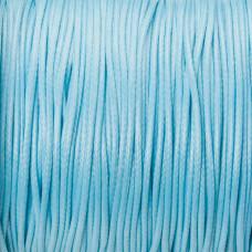 Sznurek powlekany błękitny 1mm