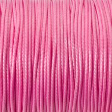 Sznurek powlekany różowy 1,5mm