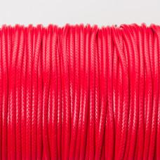 Sznurek powlekany czerwony 2mm