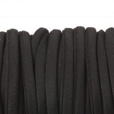Sznurek lycra czarny 5mm