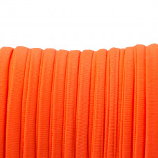 Sznurek lycra neon orange 5mm