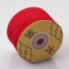 Sznurek pleciony 2.2mm czerwony