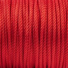 Sznurek pleciony czerwony 2mm