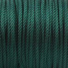 Sznurek pleciony zielony 2mm