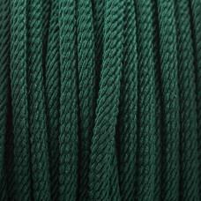Sznurek skręcany zielony 3mm