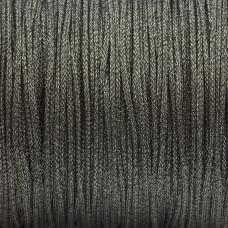 Sznurek pleciony grafitowy 1mm