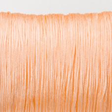 Sznurek do makramy brzoskwiniowy 0.7mm