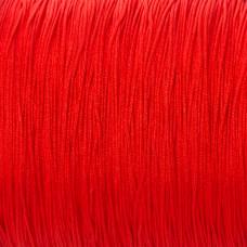 Sznurek do makramy czerwony 0,7mm