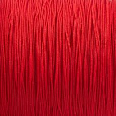 Sznurek do makramy czerwony 0,5mm