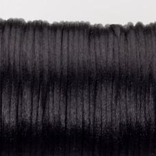 Sznurek gorsetowy czarny 2mm