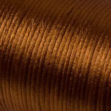 Sznurek gorsetowy brązowy 2mm
