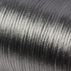 Sznurek gorsetowy szary srebrny 2mm