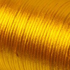 Sznurek gorsetowy ciemny żółty 2mm