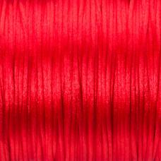 Sznurek gorsetowy czerwony 1mm