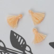 Mini chwost bawełniany brzoskwiniowy 10-15mm