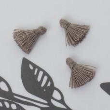 Mini chwost bawełniany stalowy 10-15mm