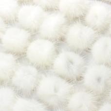 Pompon biały 4cm