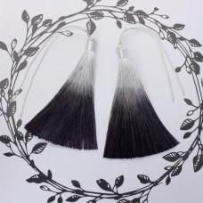 Chwosty ombre czarne 13cm