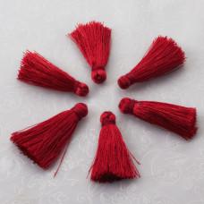 Chwost z wiskozy czerwony 30mm