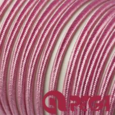 Sznurek do sutaszu 3mm różowy SZPULA