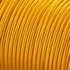Sznurek do sutaszu acetatowy 3mm pomarańczowy SZPULA