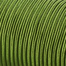 Sznurek do sutaszu acetatowy 3mm zielony SZPULA