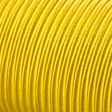 Sznurek do sutaszu acetatowy 3mm żółty SZPULA